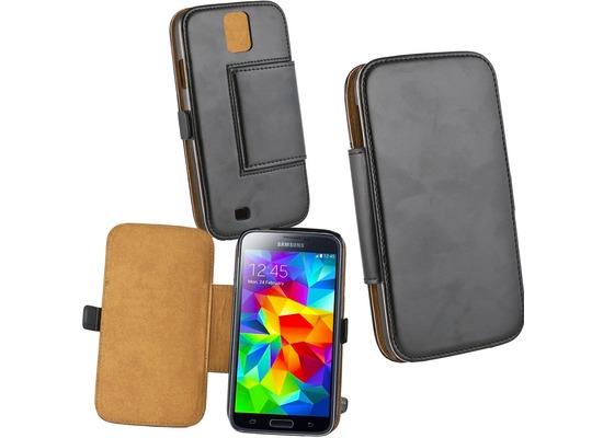Fontastic Tasche Diary schwarz für Samsung Galaxy S5