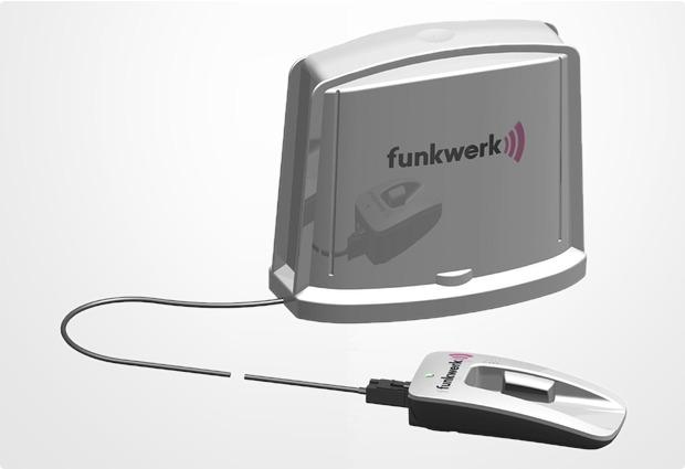 funkwerk dabendorf aktive antenne mit integriertem. Black Bedroom Furniture Sets. Home Design Ideas