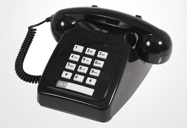 geemarc Park Lane Telefon, schwarz