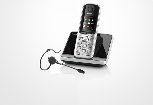 gigaset s810 inkl ohrb gel headset zx300 bei. Black Bedroom Furniture Sets. Home Design Ideas