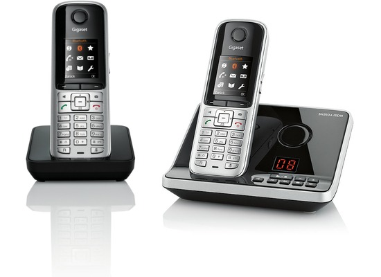 Gigaset SX810A ISDN Duo, stahlgrau