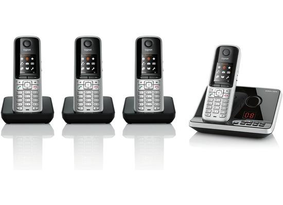 Gigaset SX810A ISDN Quattro, stahlgrau