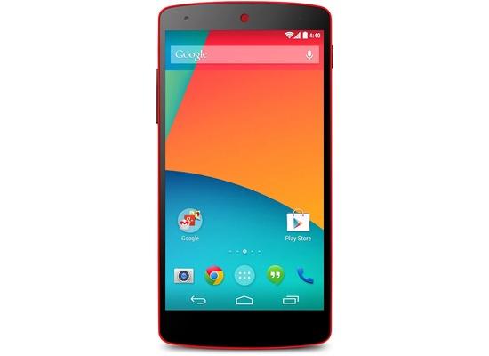 Google Nexus 5 16GB, rot