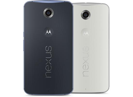 Google Nexus 6 64GB, blau