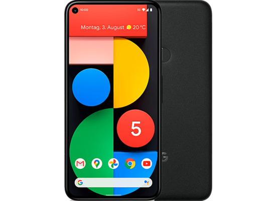 Google Pixel 5 128GB, Just Black