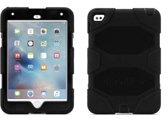 griffin survivor all terrain apple ipad mini 4 black bei kaufen versandkostenfrei. Black Bedroom Furniture Sets. Home Design Ideas