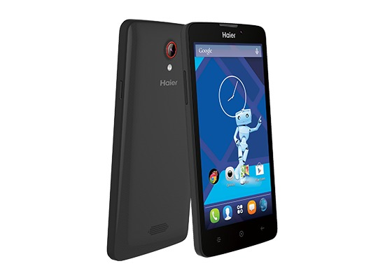Haier L52 Smartphone, black