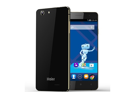 Haier L53 Smartphone, black