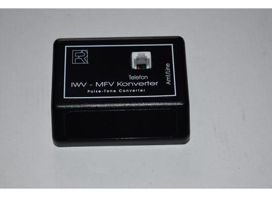 HDK Konverter IWV-MFV für ISDN Anlagen, RJ11-Buchse / ohne Netzteil