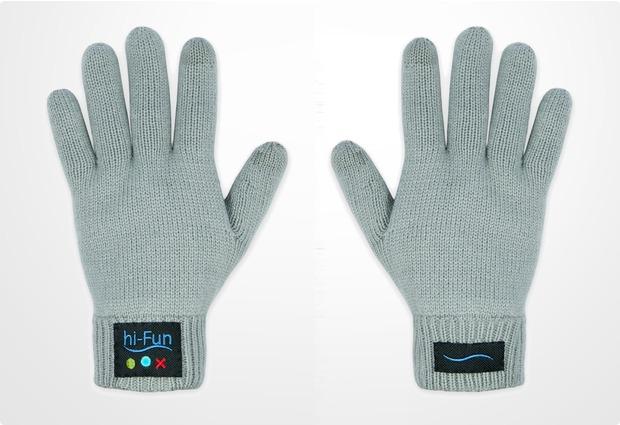 hi-Fun Bluetooth Handschuhe Hi-Call (Girl), grau