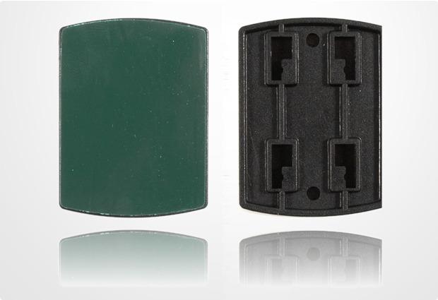 HR Auto-Comfort Selbstklebende Adapterplatte mit 4-Loch-Rastersystem
