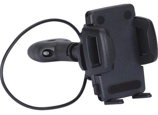 HR Auto-Comfort Schwanenhals-Smartphonehalter für die Kopfstütze Universal (42 - 78 mm)