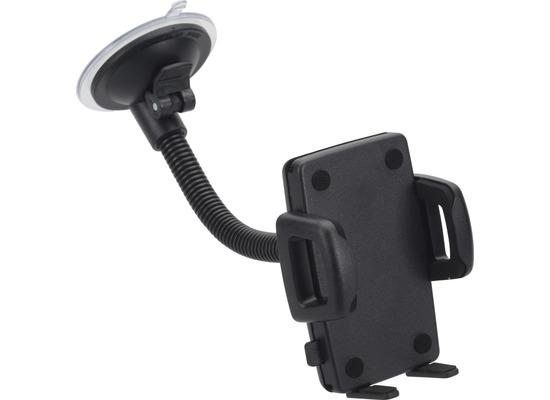 HR Auto-Comfort Schwanenhals-Smartphonehalter mit Saugnapf Universal (56 - 85 mm)