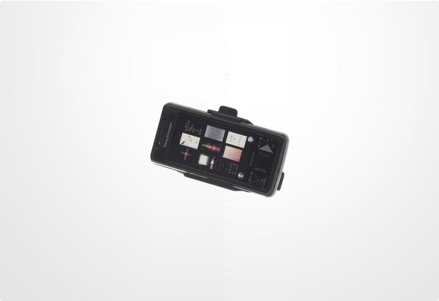 HR Auto-Comfort Halter für Sony Ericsson Xperia X1