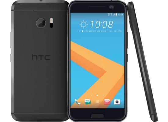 HTC 10, carbon grey