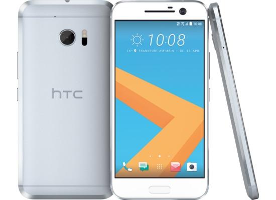 HTC 10, glacier silver