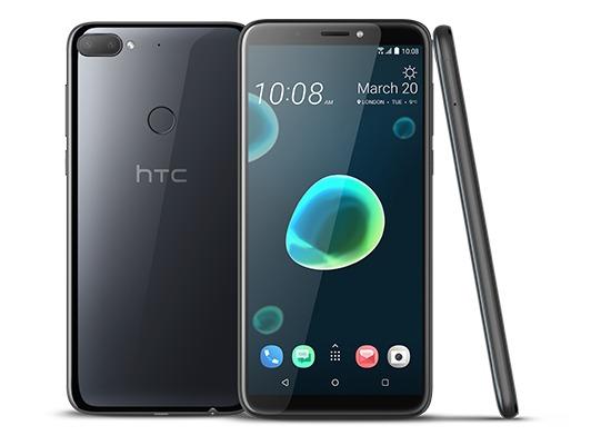 HTC Desire 12 Plus, Cool Black