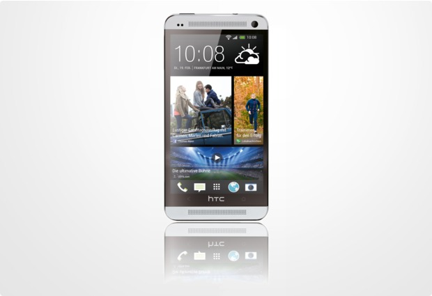 HTC One (M7), silber NB