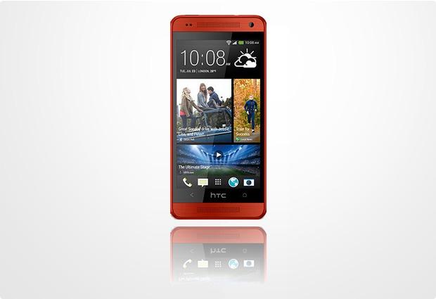 HTC One mini, rot