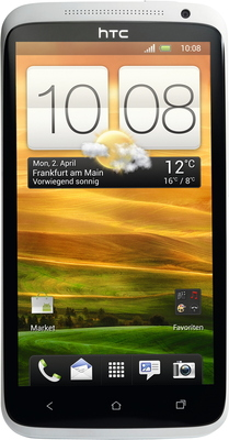 HTC One X 32GB, polar white