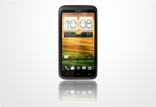 HTC One XL (LTE), glamour gray (Vodafone)