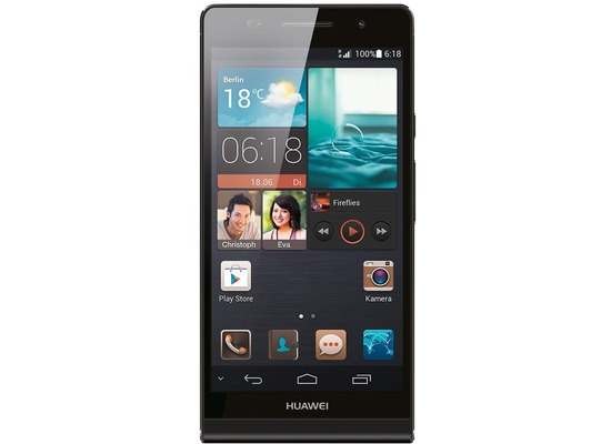 Huawei Ascend P6, schwarz