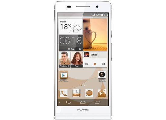 Huawei Ascend P6, weiß