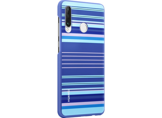 Huawei PC Cover Striped for P30 Lite blue