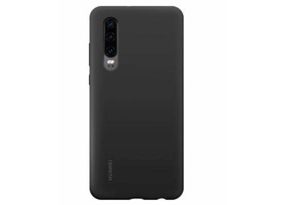 Huawei Silikon Case, Huawei P30, Schwarz