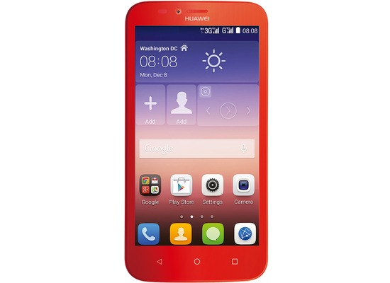 Huawei Y625, rot