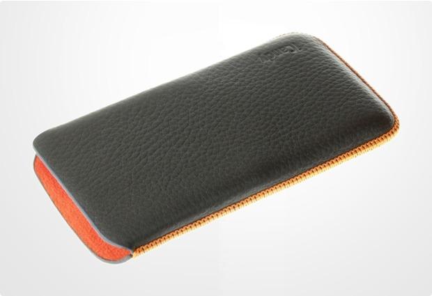 iCandy Splash Classic Mobile Sleeve für iPhone 5/5S/SE, grau