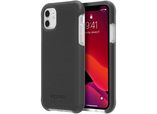 Incipio Aerolite Case, Apple iPhone 11, schwarz/transparent, IPH-1851-BLK