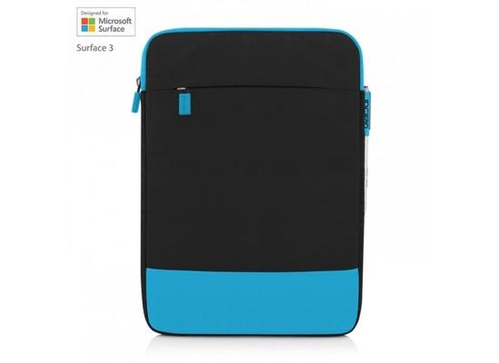Incipio Asher vertikale Tasche Microsoft Surface 3 schwarz/cyan MRSF-086-BKCYN