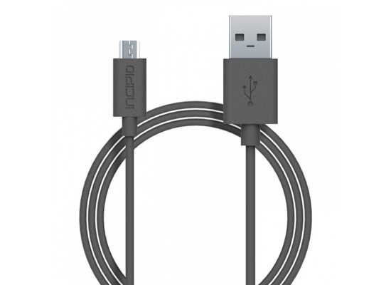 Incipio Charge/Sync Micro-USB Kabel 1m grau PW-200-GRY