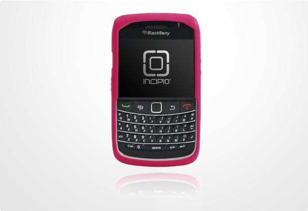 Incipio dermaSHOT für Blackberry Bold 9700, magenta-rot