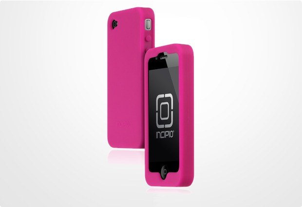 Incipio dermaSHOT für iPhone 4, hell-violett
