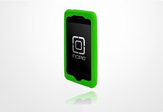 Incipio dermaSHOT Pro für iPhone 3G, neon-grün