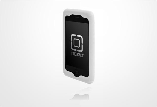 Incipio dermaSHOT Pro für iPhone 3G, weiß