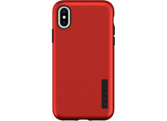 Incipio DualPro Case, Apple iPhone XS/X, iridescent rot/schwarz