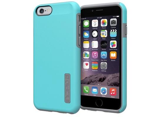 Incipio DualPro für iPhone 6, blau-grau