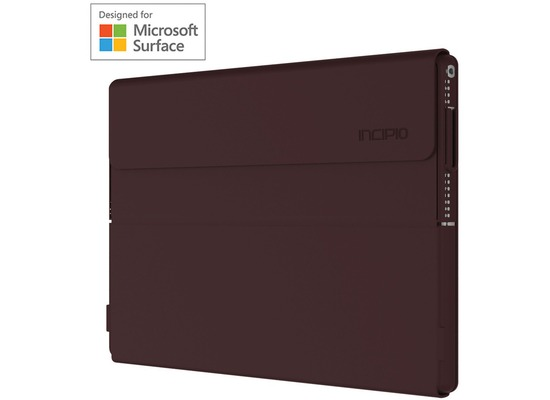 Incipio Faraday Folio Case - Surface Pro (2017) & Pro 4 - rot (burgundy)