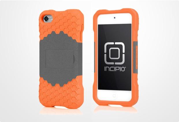 Incipio HIVE Response für iPod Touch 5G, grau-orange
