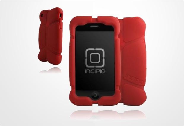 Incipio Superhero für iPhone 3G, hell boy rot