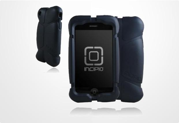 Incipio Superhero für iPhone 3G, batman metallic schwarz