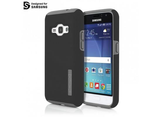Incipio Octane Case, Samsung Galaxy J1 (2016), Frost/Schwarz