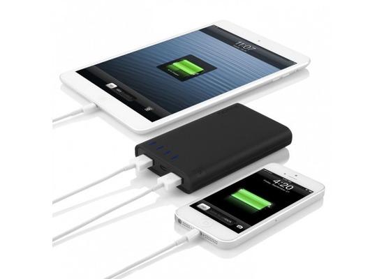 Akkus, Powerbanks - Incipio Portable Backup battery 8000mAh 2 port, schwarz  - Onlineshop Telefon.de