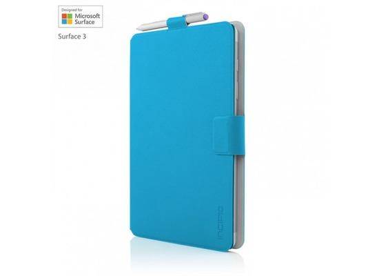 Incipio Roosevelt Klapptasche Microsoft Surface 3 cyan MRSF-081-CYN