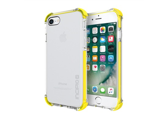 Incipio [Sport Series] Reprieve Case - Apple iPhone 7 / 8 - transparent/lime