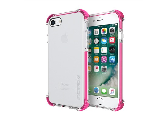 Incipio [Sport Series] Reprieve Case - Apple iPhone 7 / 8 - transparent/pink