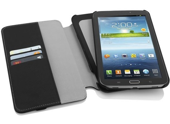 Incipio Watson Wallet für Samsung Galaxy Tab 3 7.0, schwarz